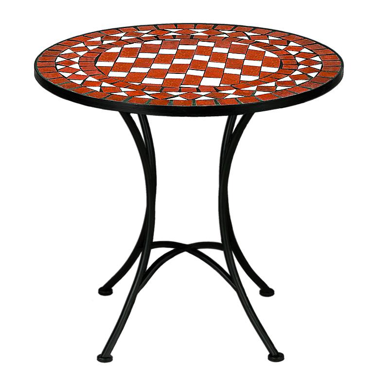 mosaiktisch mosaik 60 cm gartentisch tisch schach. Black Bedroom Furniture Sets. Home Design Ideas