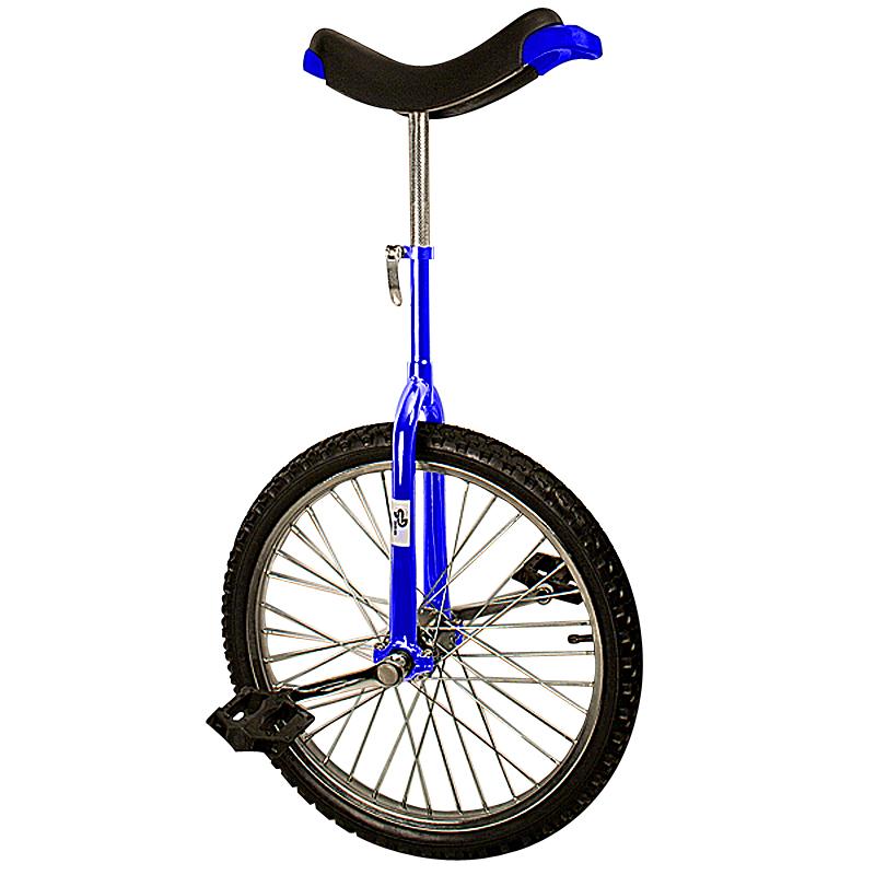 einrad 20 zoll blau artistenrad rad fahrrad hochrad 20. Black Bedroom Furniture Sets. Home Design Ideas