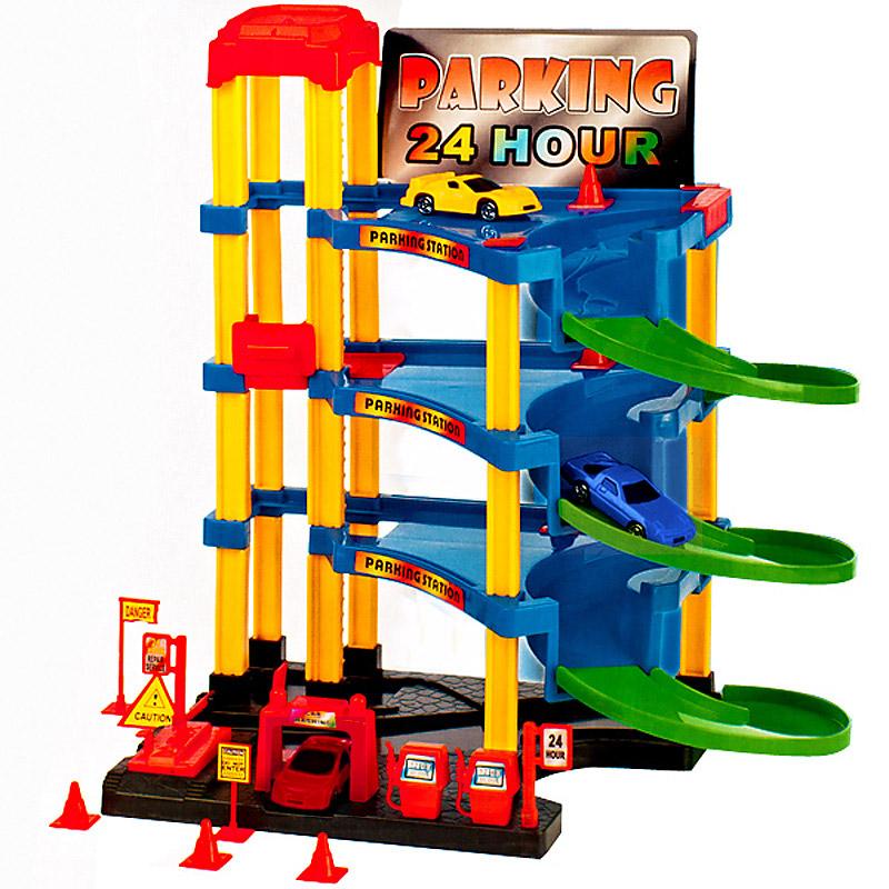Spielzeuggarage autogarage parkhaus kinderspielzeug garage