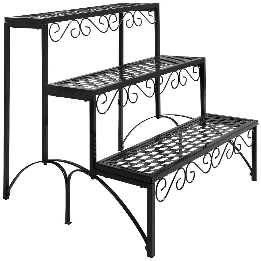 gartenregal blumenregal blumentreppe pflanzentreppe blumen. Black Bedroom Furniture Sets. Home Design Ideas