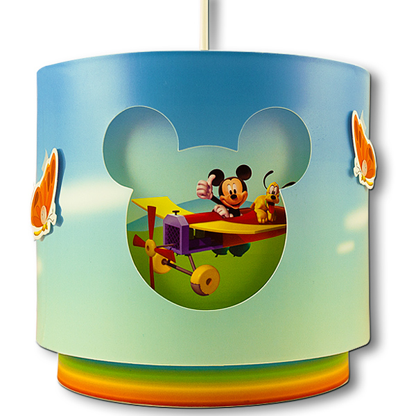 Kinder Deckenlampe Mickey Mouse Hängelampe Lampe Leselampe Leuchte ...
