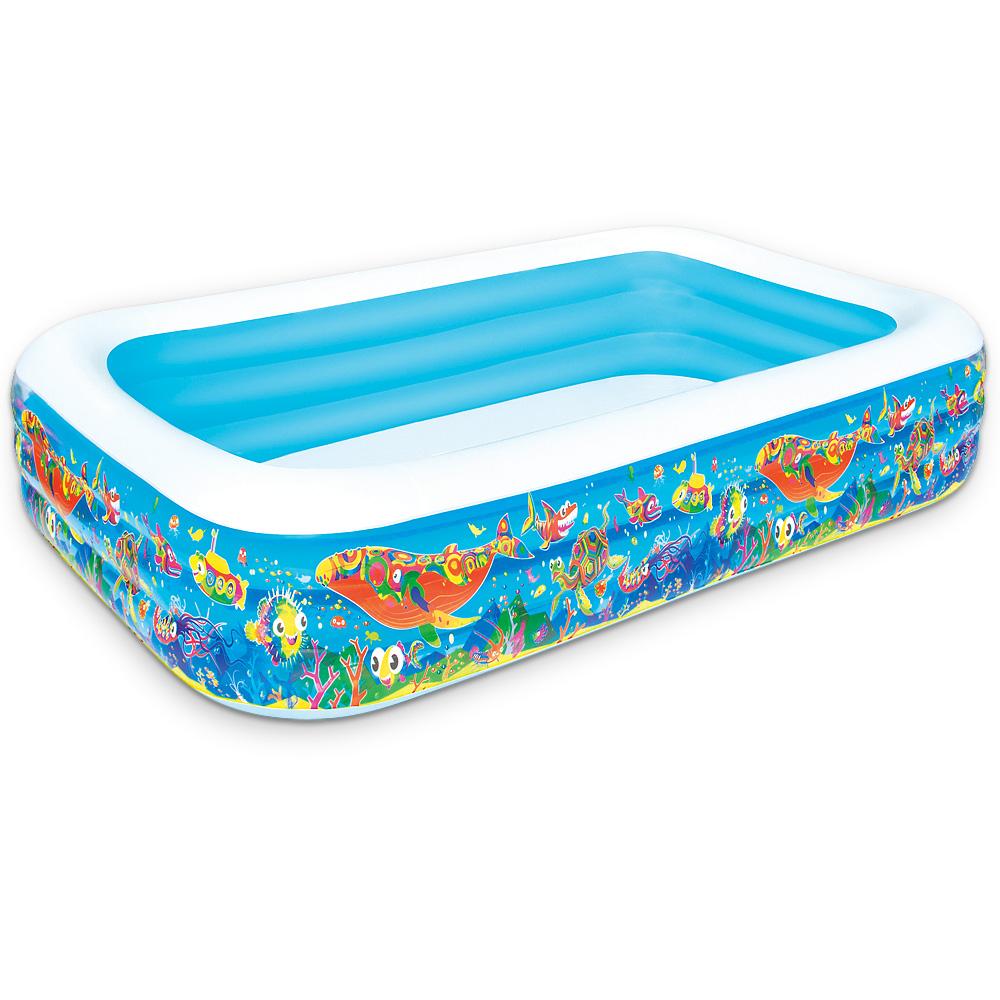 Bestway piscine rectangulaire marine 305x183x56cm for Bestway piscine service com