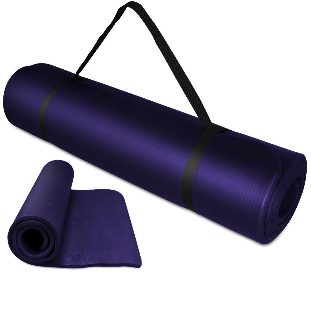 yogamatte 180x80x1 5cm sportmatte gymnastikmatte fitness matte turnmatte lila do ebay. Black Bedroom Furniture Sets. Home Design Ideas