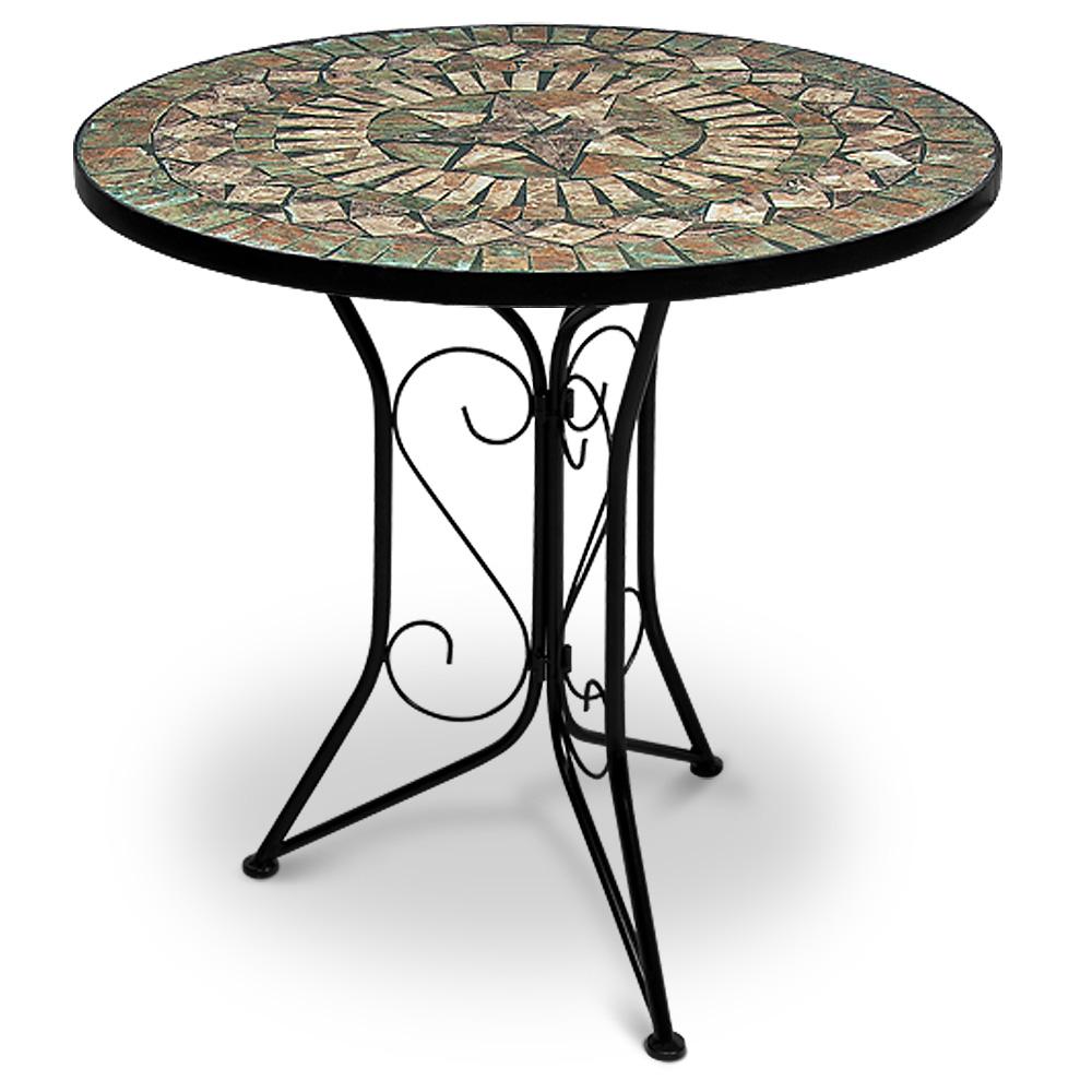 Mosaic Bistro Table Ø60cm Garden Patio Balcony Cafe