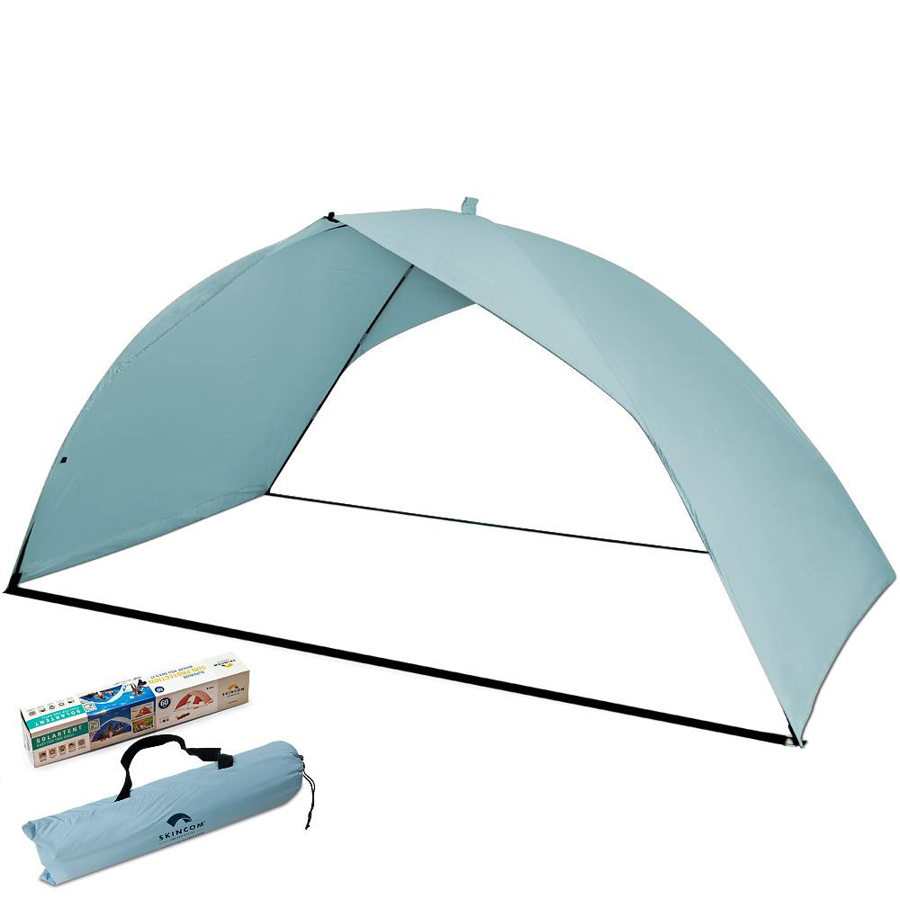 skincom strandmuschel sonnenzelt strand sonnenschutz windschutz sonnensegel hg ebay. Black Bedroom Furniture Sets. Home Design Ideas