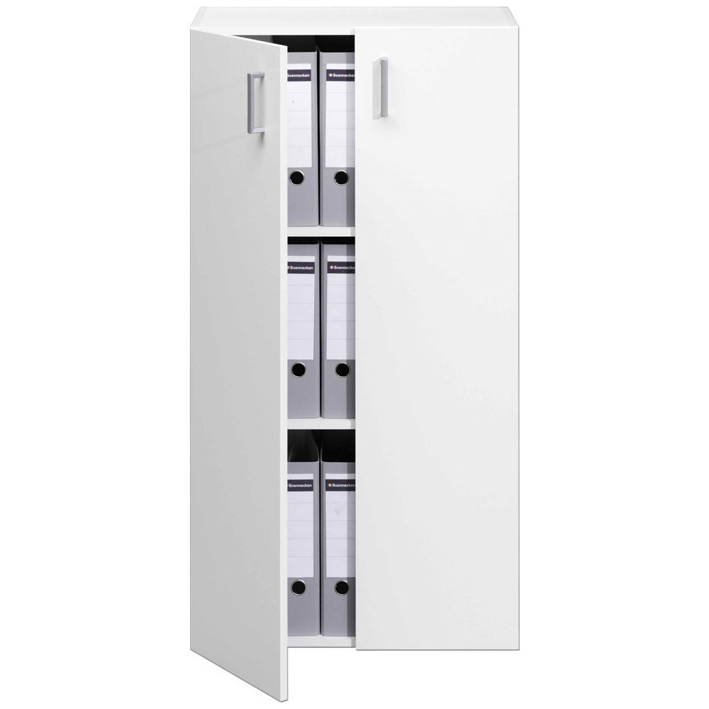 Armoire avec 2 portes rangement meuble tag re 115 5cm for Armoire avec etagere