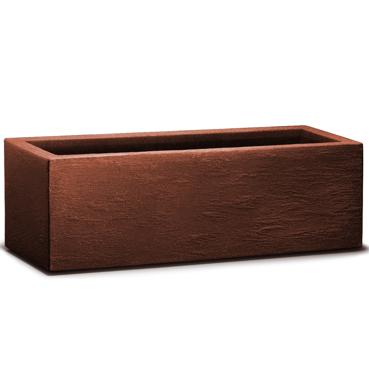 planter plant pot box rectangular window trough 80x30x27cm. Black Bedroom Furniture Sets. Home Design Ideas