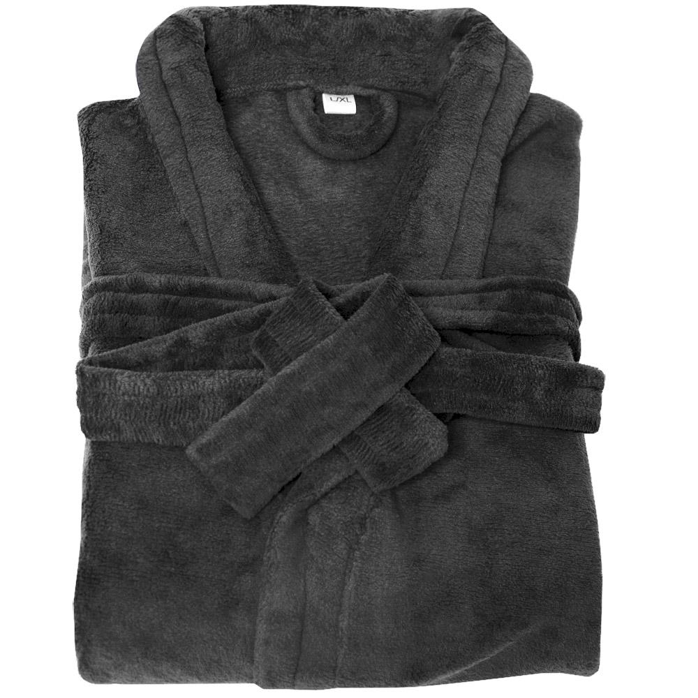 bademantel saunamantel morgenmantel microfaser unisex damen herren bad sauna neu. Black Bedroom Furniture Sets. Home Design Ideas