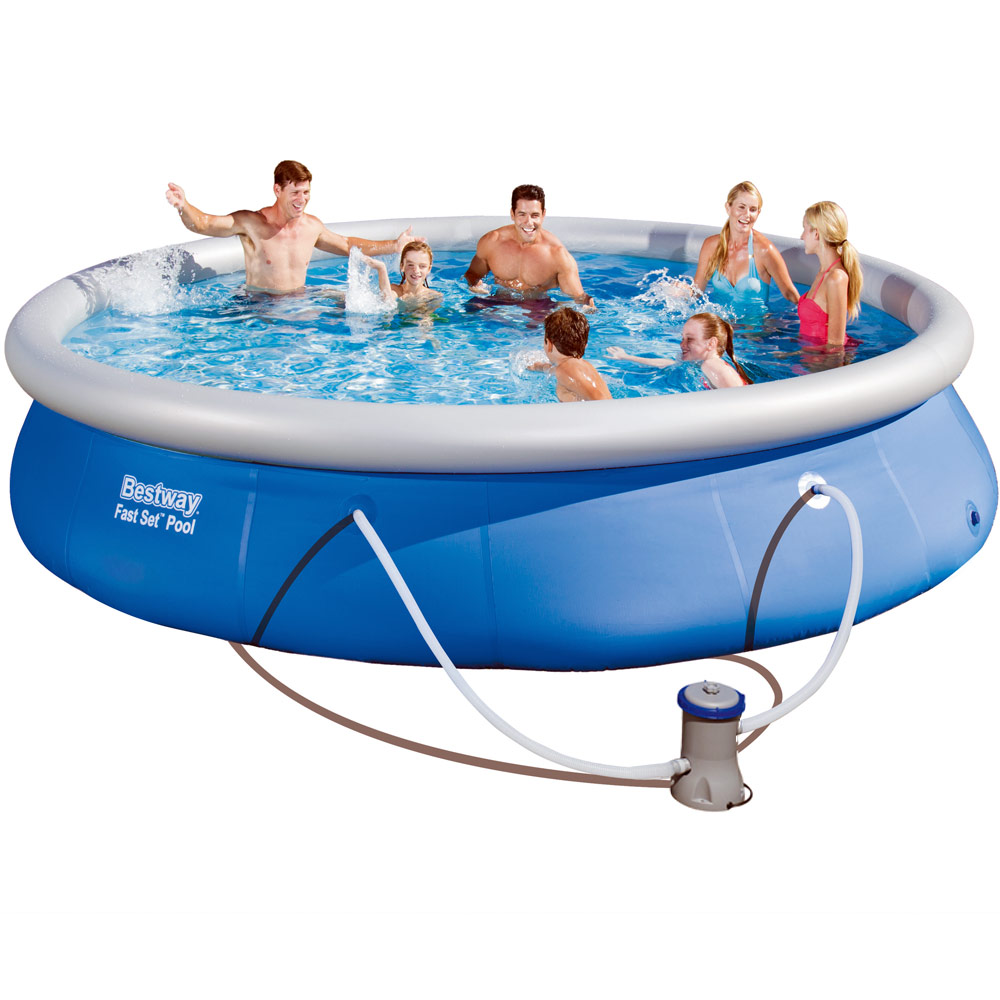 Quickup pool swimming pool 57313 planschbecken schwimmbad for Swimmingpool selbstaufstellend