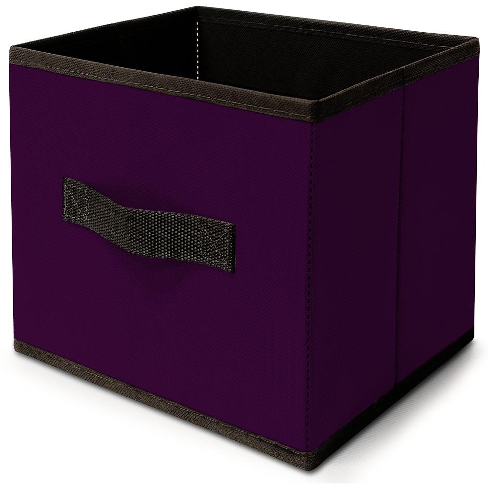 bo te caisse rangement tri casier pliable taille l coloris au choix ebay. Black Bedroom Furniture Sets. Home Design Ideas
