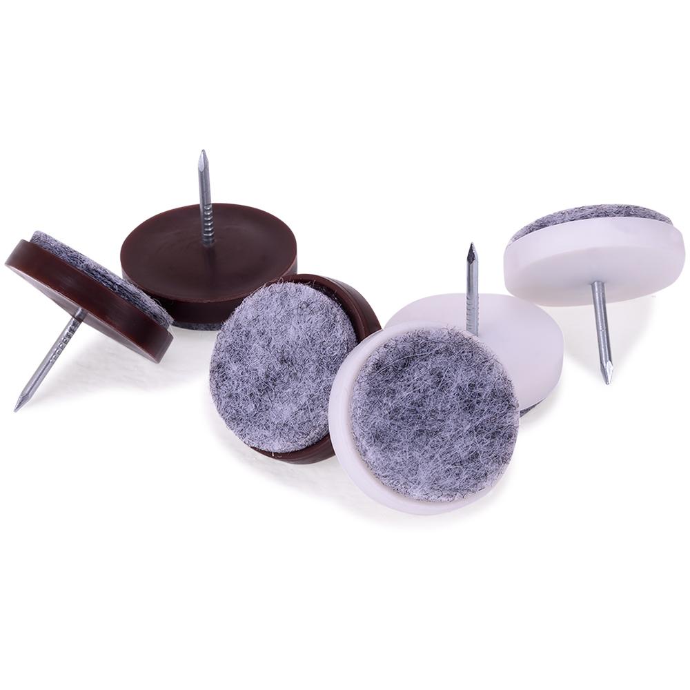 24x filzgleiter m belgleiter 24mm nagel stuhlgleiter gleiter parkettgleiter ebay. Black Bedroom Furniture Sets. Home Design Ideas