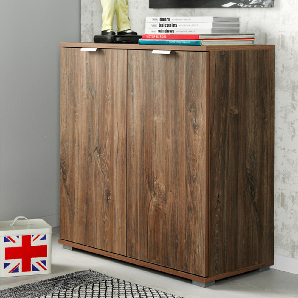 sideboard highboard kommode mehrzweckschrank flur anrichte beistellkommode ebay. Black Bedroom Furniture Sets. Home Design Ideas