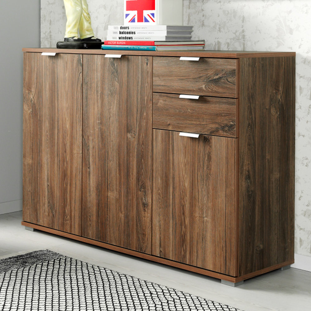 sideboard highboard kommode mehrzweckschrank flur anrichte. Black Bedroom Furniture Sets. Home Design Ideas