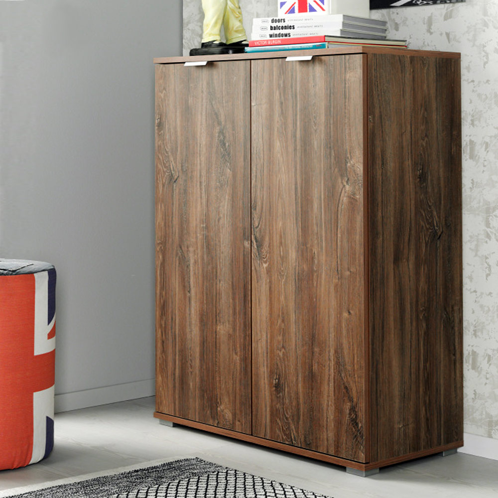 Large Wooden Storage Cabinets ~ Sideboard cabinet modern wooden large storage commode high