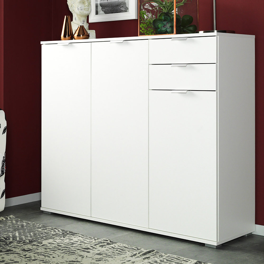 sideboard highboard kommode mehrzweckschrank flur anrichte. Black Bedroom Furniture Sets. Home Design Ideas
