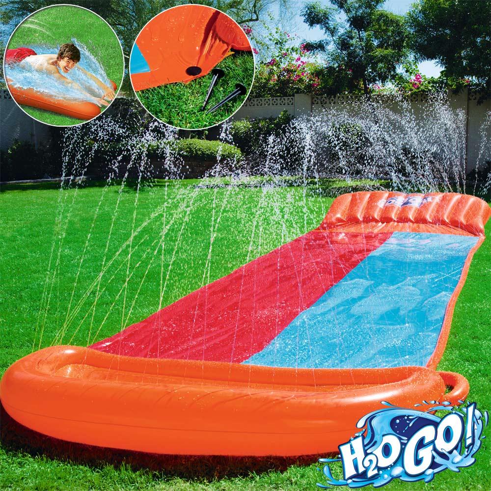 bestway inflatable water slide kids splash outdoor fun. Black Bedroom Furniture Sets. Home Design Ideas