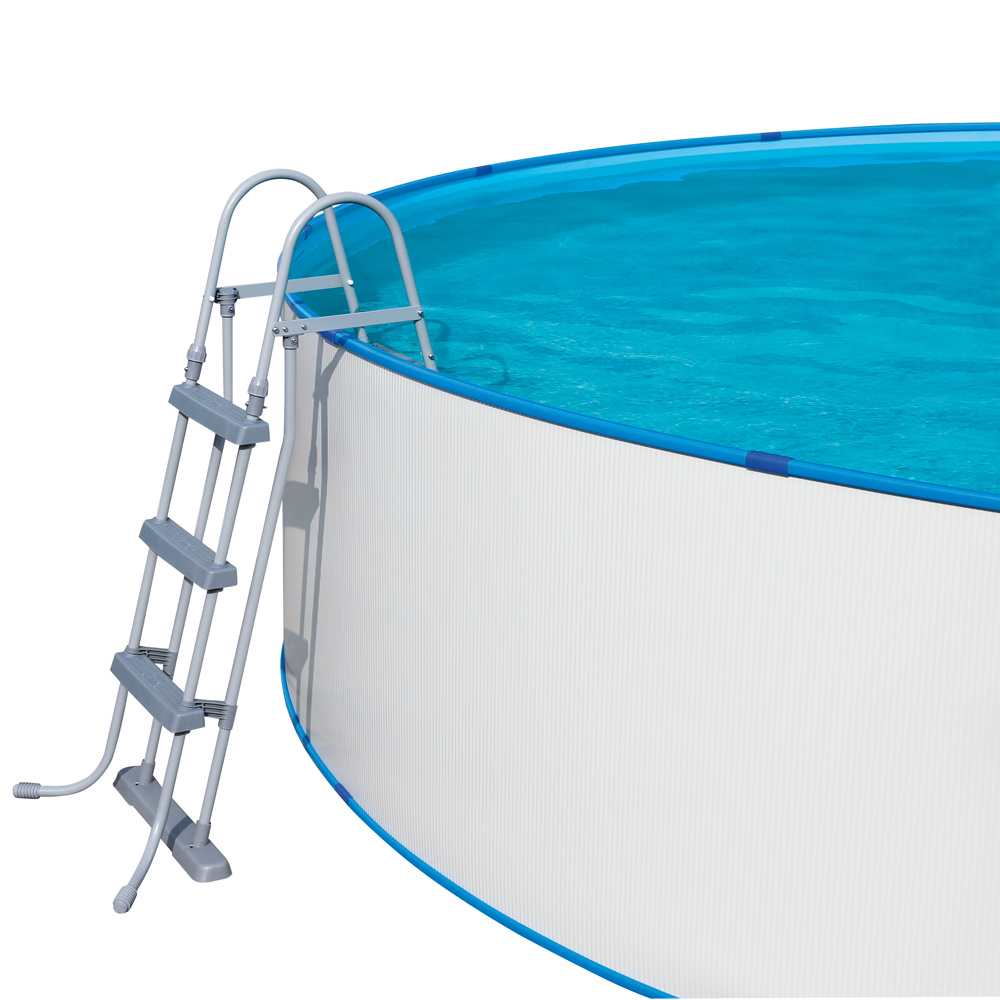 Pool mit stahlwand holzpool mathys ag pool mit stahlwand for Bauhaus bestway pool
