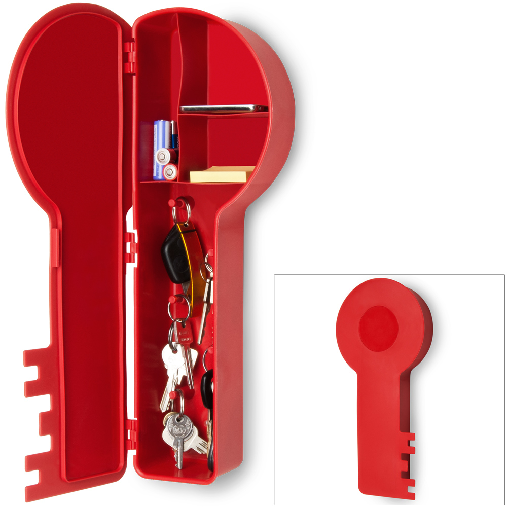 key shaped holder organiser box wall mounted storage 5 hooks home cabinet rack. Black Bedroom Furniture Sets. Home Design Ideas