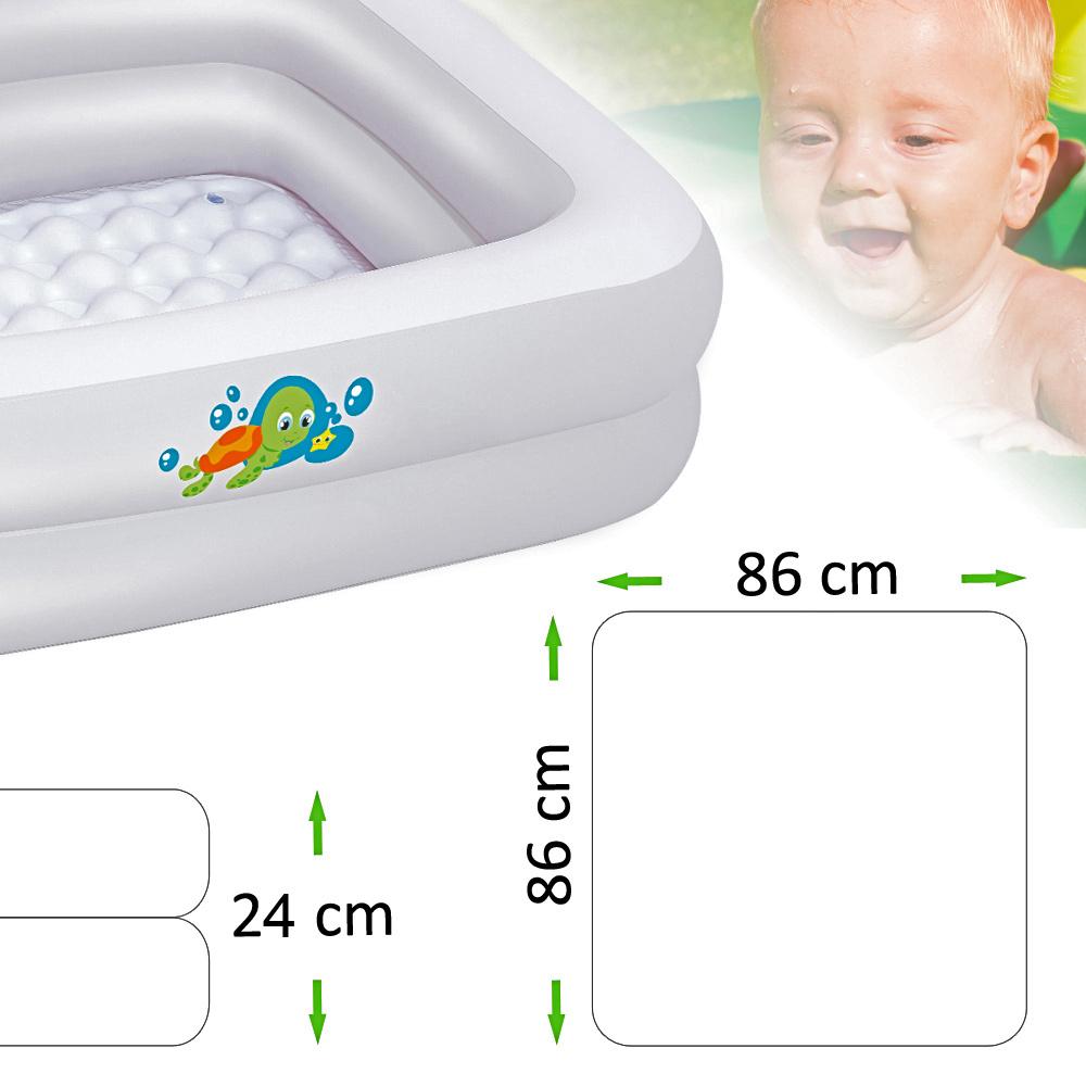 bestway planschbecken schwimmbecken kinder baby pool babypool babybadewanne ebay. Black Bedroom Furniture Sets. Home Design Ideas