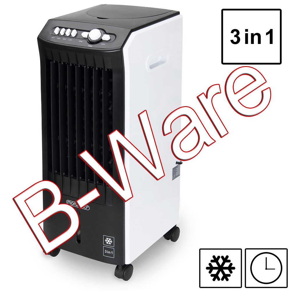 b ware 3in1 mobile klimaanlage luftk hler ventilator luftbefeuchter luftreiniger ebay. Black Bedroom Furniture Sets. Home Design Ideas