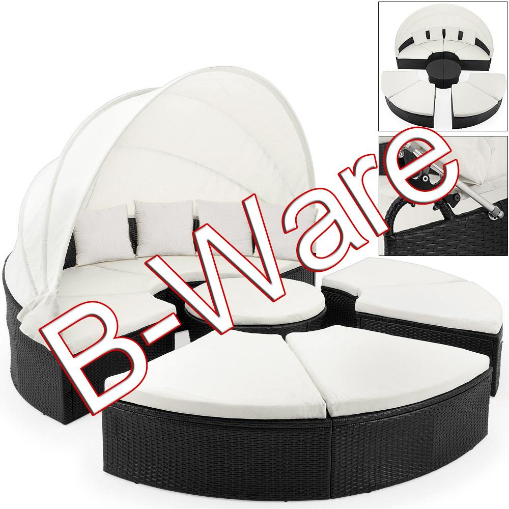 b ware sonneninsel 230cm lounge gartenm bel sitzgruppe liege sonnenliege ebay. Black Bedroom Furniture Sets. Home Design Ideas