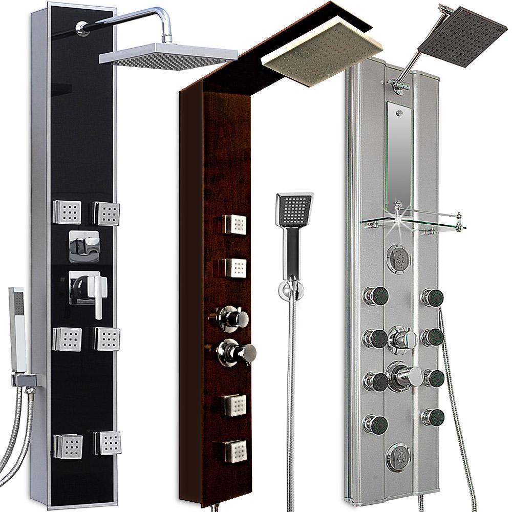 Colonne de douche moderne et l gante pour salle de bain for Colonne de salle de bain moderne