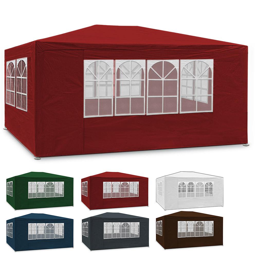 oktoberfest zelt garten pavillon 3x6 wiesn partyzelt festzelt bierzelt holzlook ebay. Black Bedroom Furniture Sets. Home Design Ideas