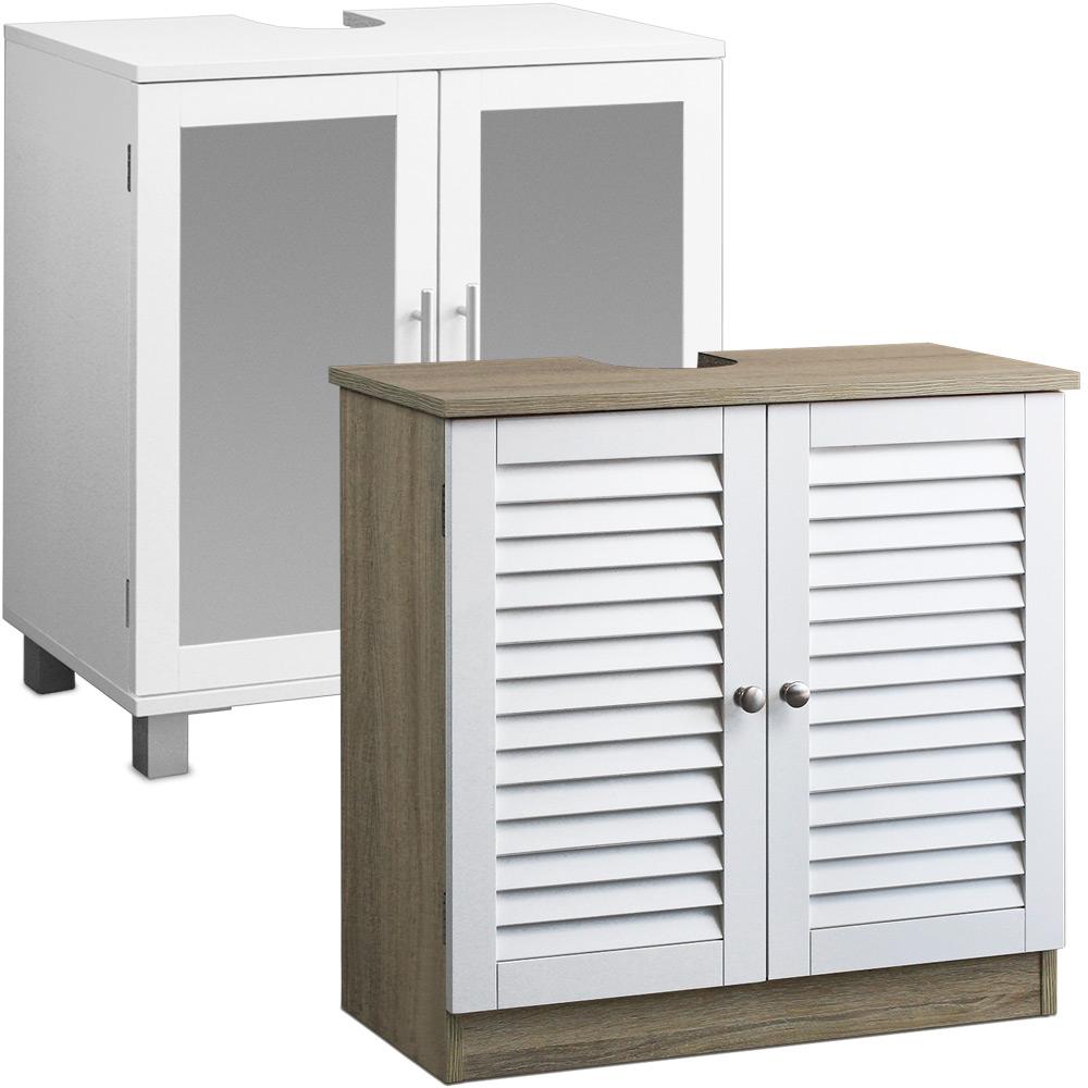 Basin under sink cabinet bathroom cabinet wooden bath - Petit meuble lavabo ...