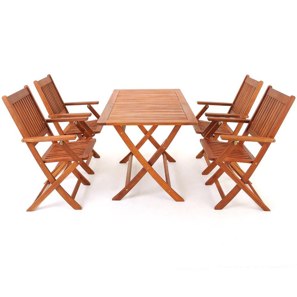 Sitzgruppe Sydney Sitzgarnitur Holz Gartenset Gartengarnitur