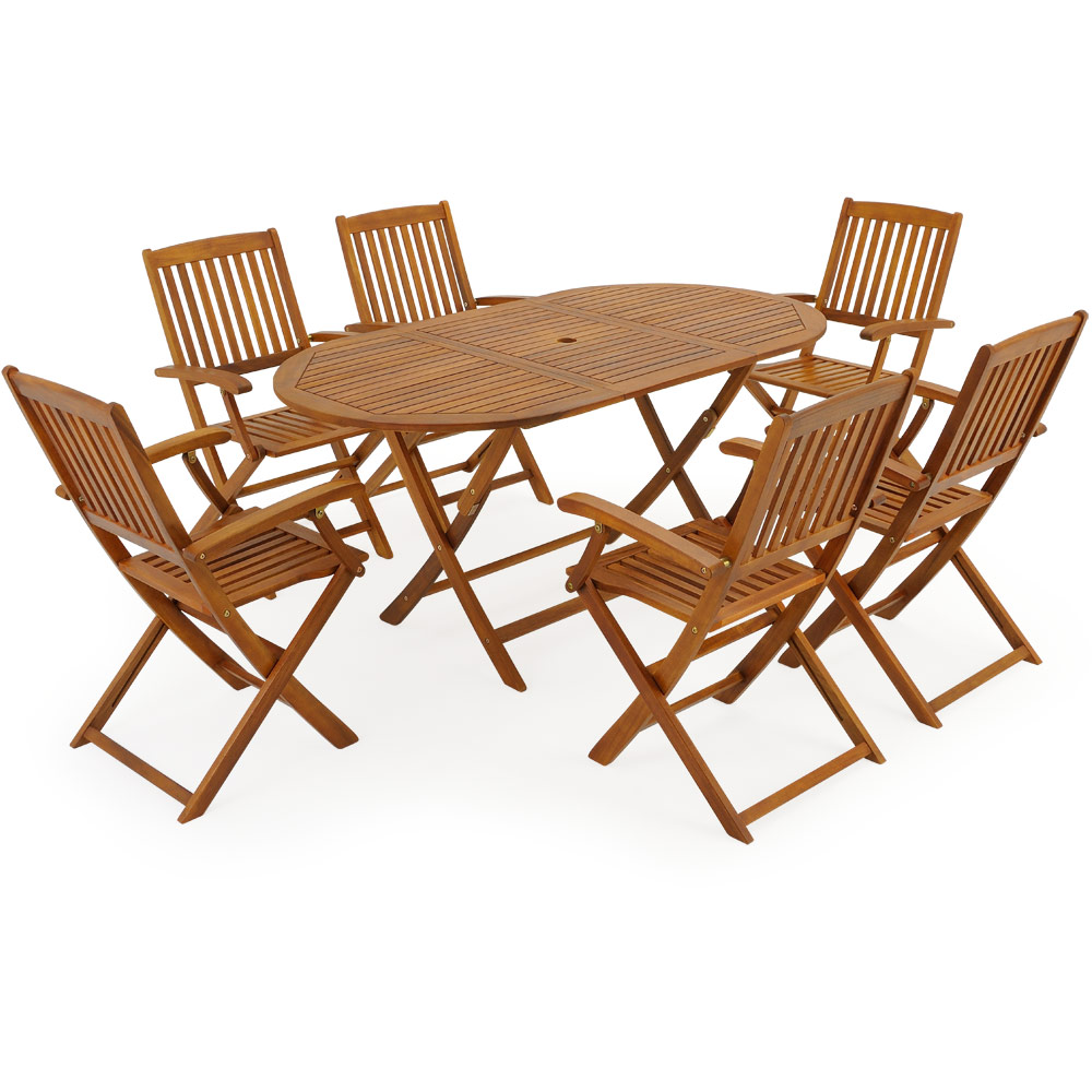 wooden garden furniture set boston table chairs acacia wood, Garten seite