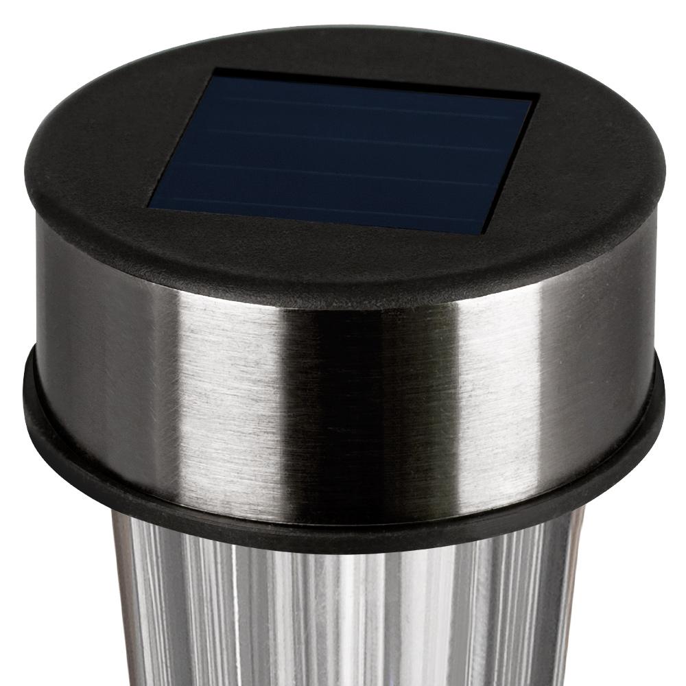 24x led solarleuchte solar leuchten edelstahl solarlampe gartenleuchten garten. Black Bedroom Furniture Sets. Home Design Ideas