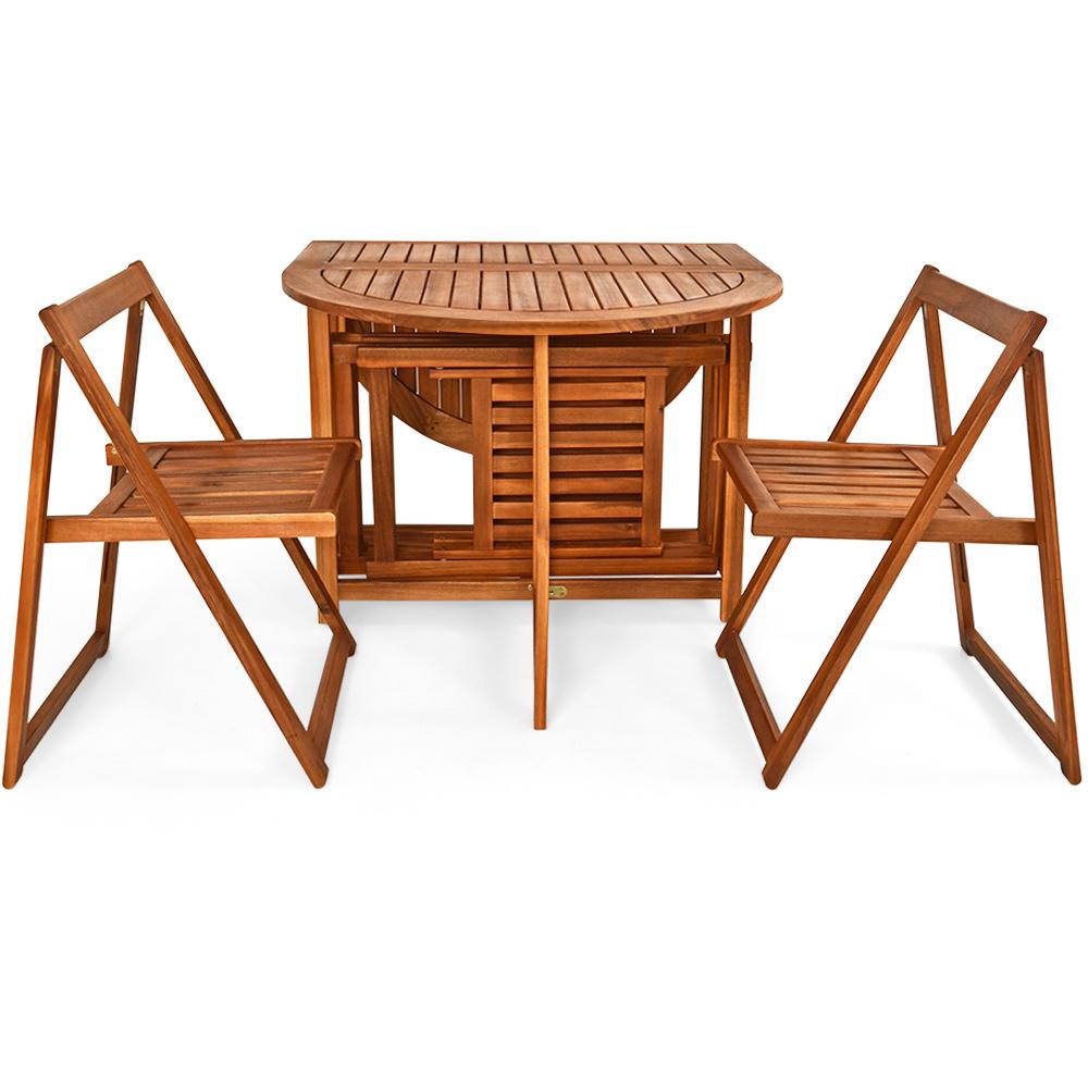 Ensemble meuble balcon terrasse salon de jardin set 5 pcs for Ensemble meuble jardin