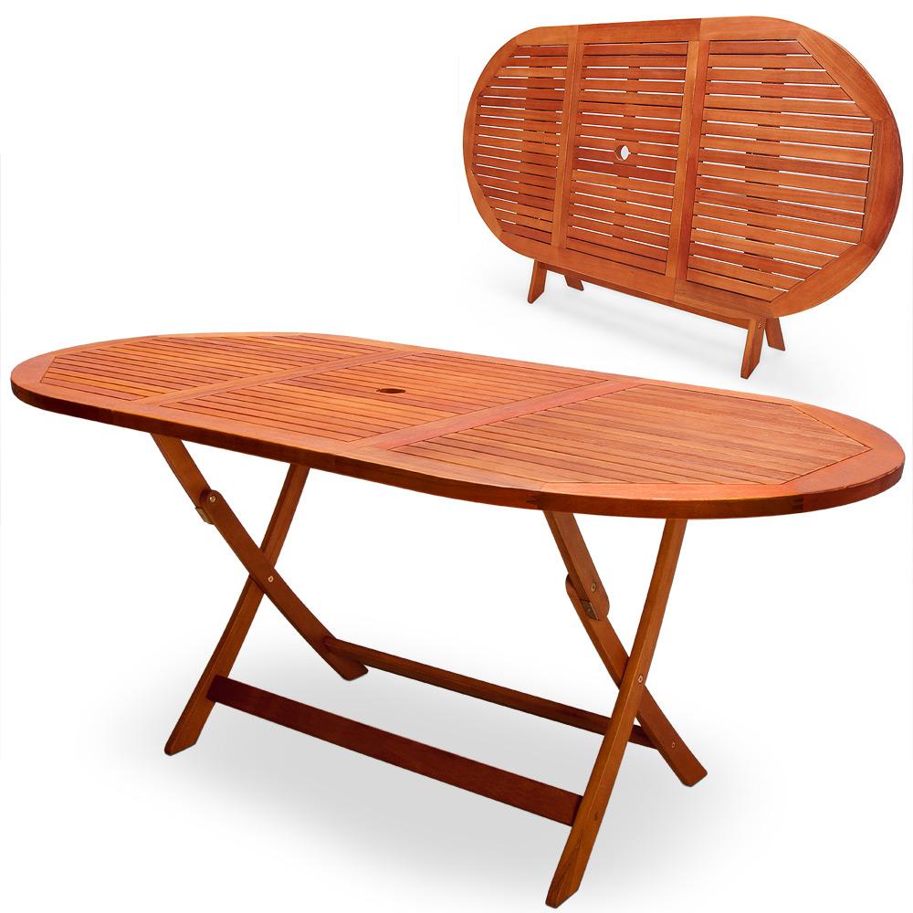 """88100007 Gartentisch """"Alabama"""" aus Eukalyptus-Holz"""