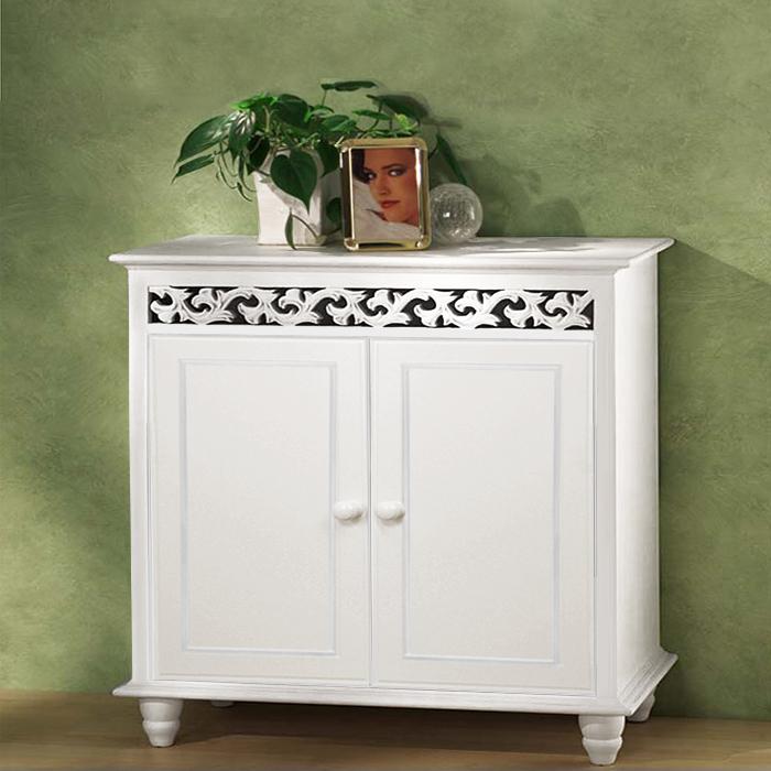 B-Ware Traumhafter Schrank JERSEY Kommode weiß Sideboard Möbel  eBay