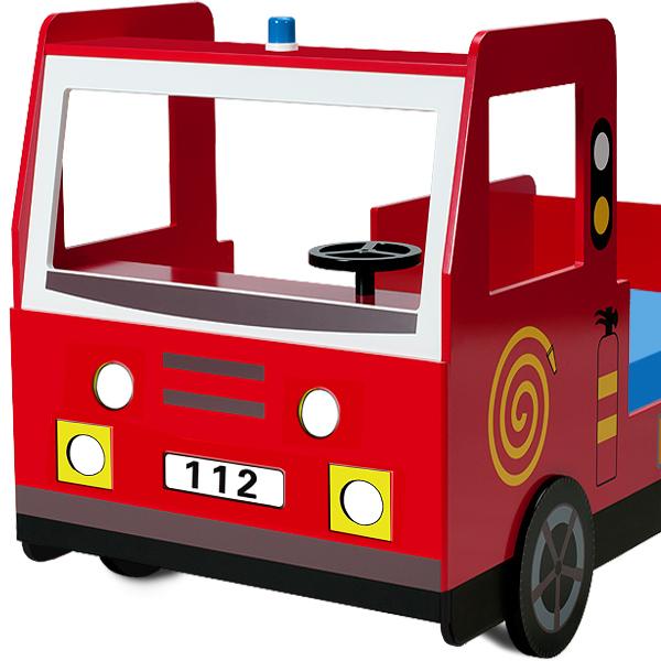 Broken Bedroom Door Fire Engine Bedroom Accessories Bedroom Before And After Makeover Warm Bedroom Colors And Designs: Kids Fire Engine Bed Frame Truck Single Bed Car Red