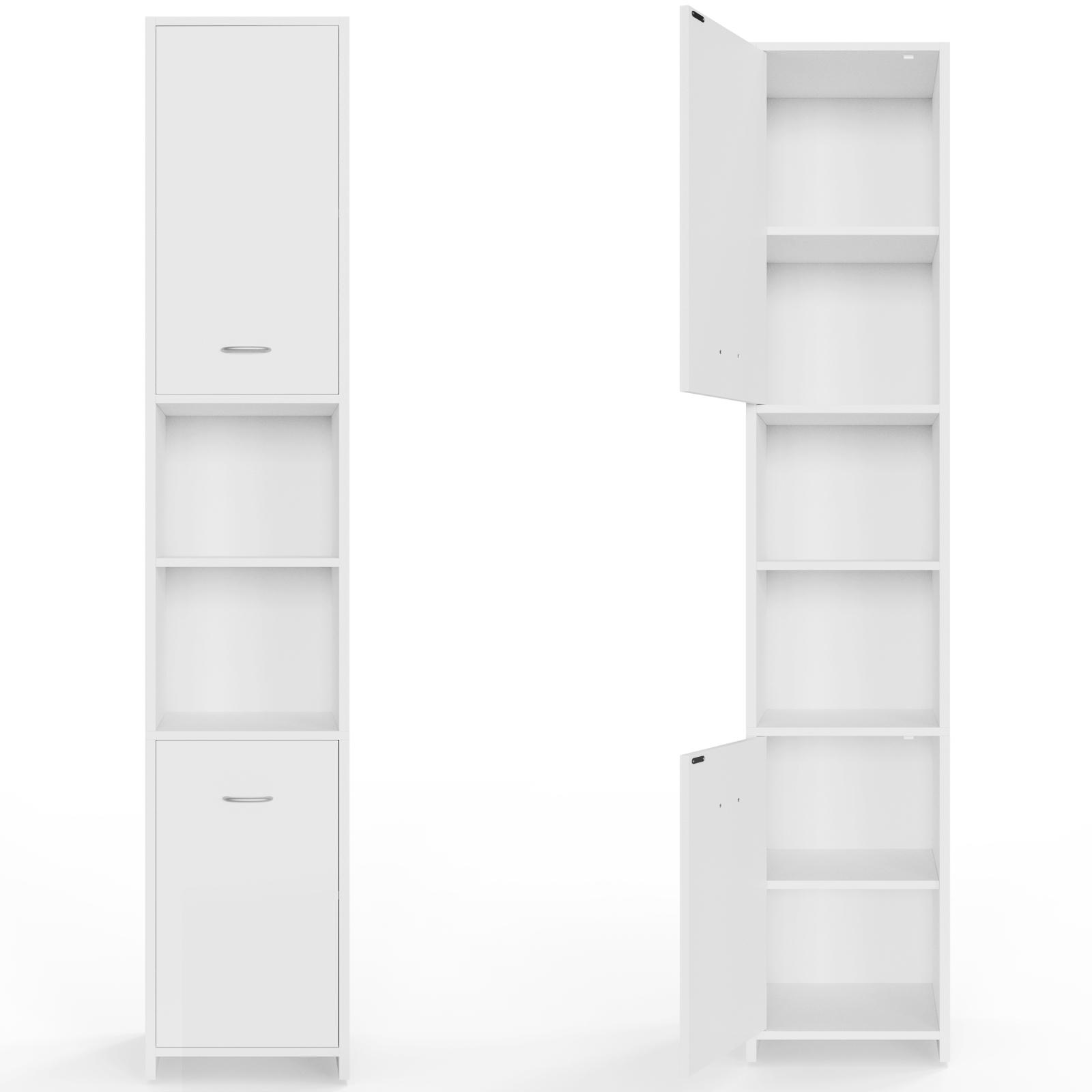 Meuble salle de bain armoire colonne tag re rangement for Colonne salle de bain 30 x 30