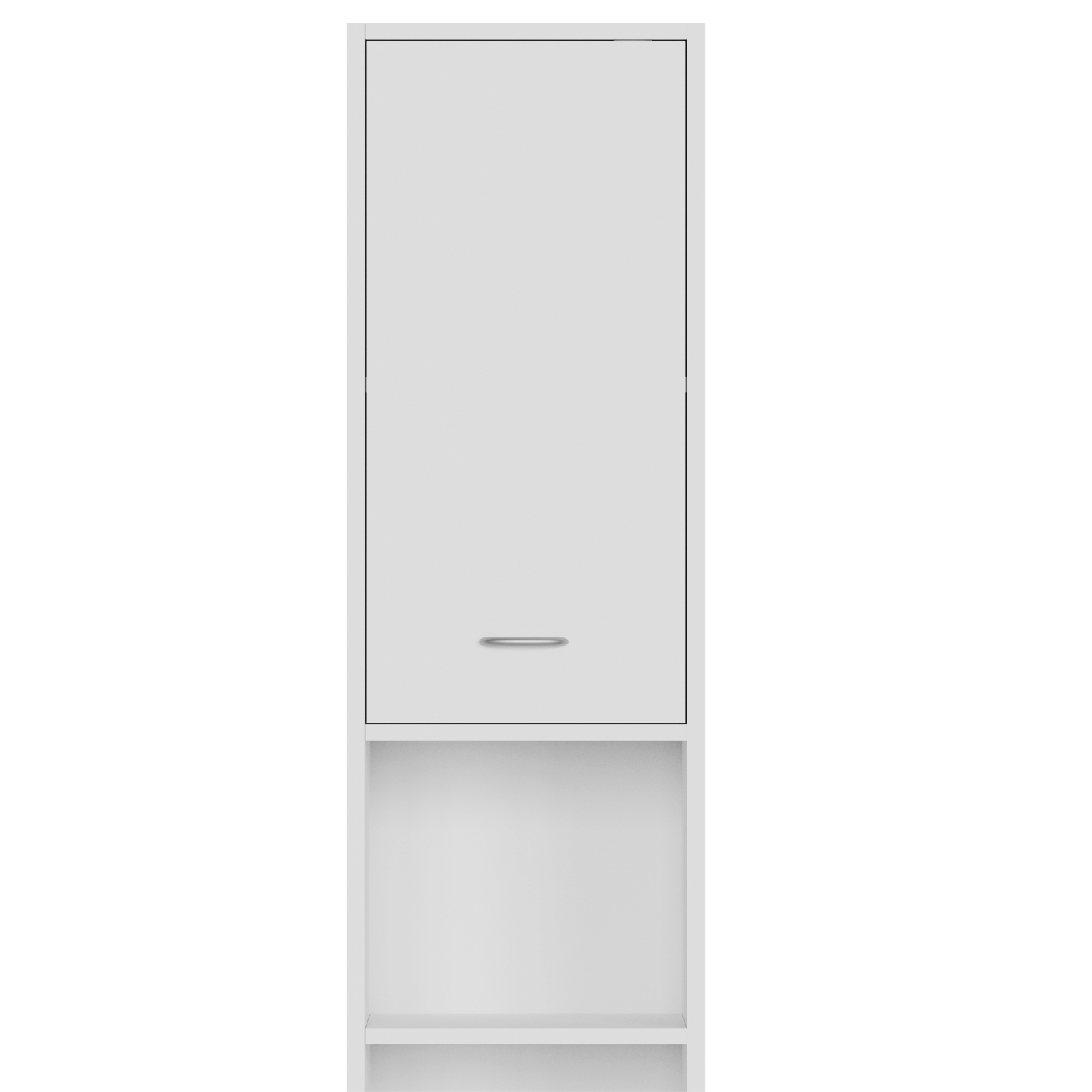 meuble salle de bain blanc armoire colonne tag re de rangement 185x30 x30 cm ebay. Black Bedroom Furniture Sets. Home Design Ideas