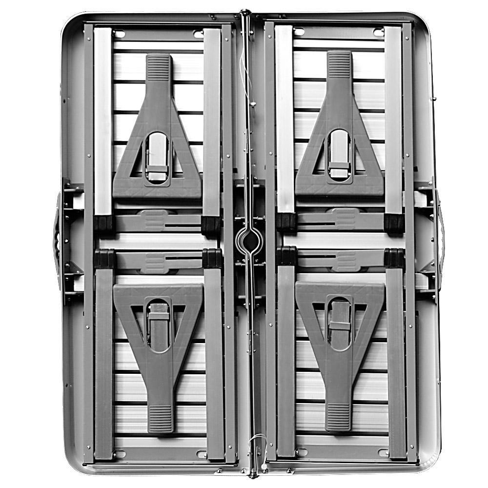 set de pique nique aluminium avec fonction valise et emplacement pour parasol ebay. Black Bedroom Furniture Sets. Home Design Ideas