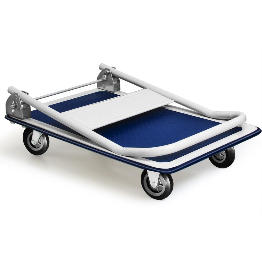 chariot de transport 150 kg diable platforme pliable roues en caoutchouc plateau ebay. Black Bedroom Furniture Sets. Home Design Ideas