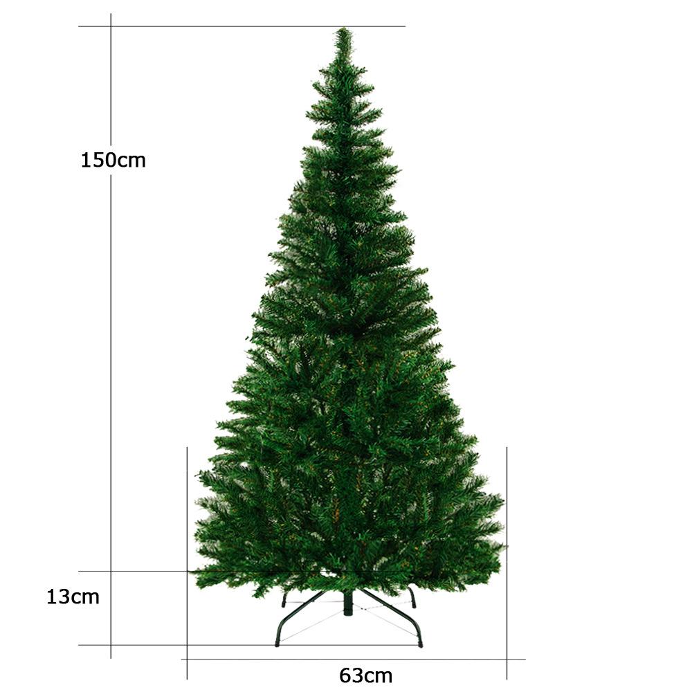 Deco Pied De Sapin détails sur sapin de noël arbre artificiel 150 cm avec 310 branches pied  décoration fêtes