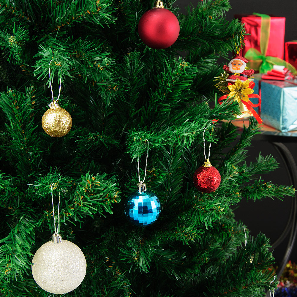 k nstlicher weihnachtsbaum 180cm 533 spitzen tannenbaum. Black Bedroom Furniture Sets. Home Design Ideas