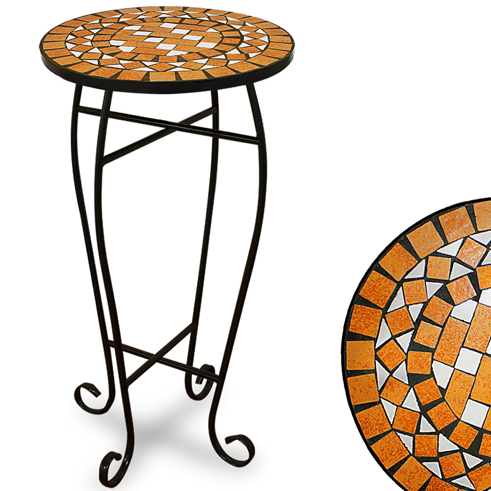 88100943 Mosaiktisch 62 x 34 cm Terracotta