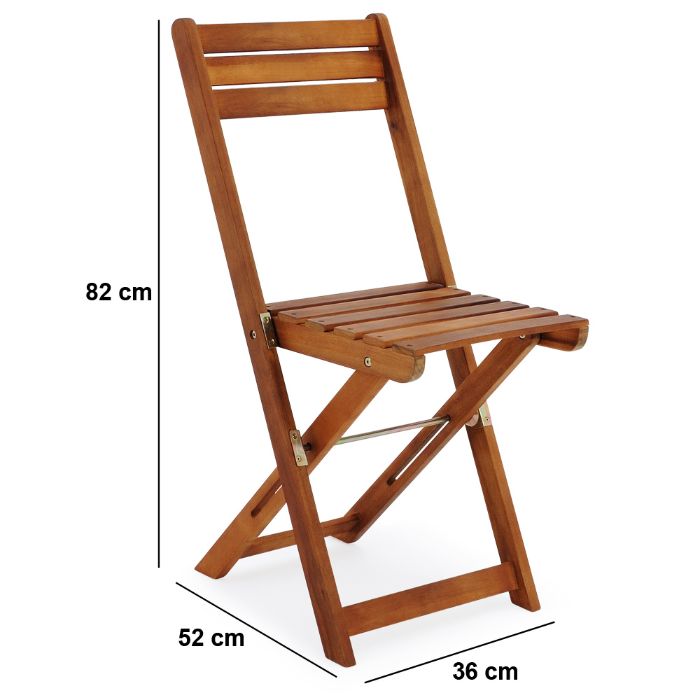 Wooden Furniture Set Balcony Patio Folding Table Chairs FSC® C&ing Outdoor | eBay  sc 1 st  eBay & Wooden Furniture Set Balcony Patio Folding Table Chairs FSC® Camping ...