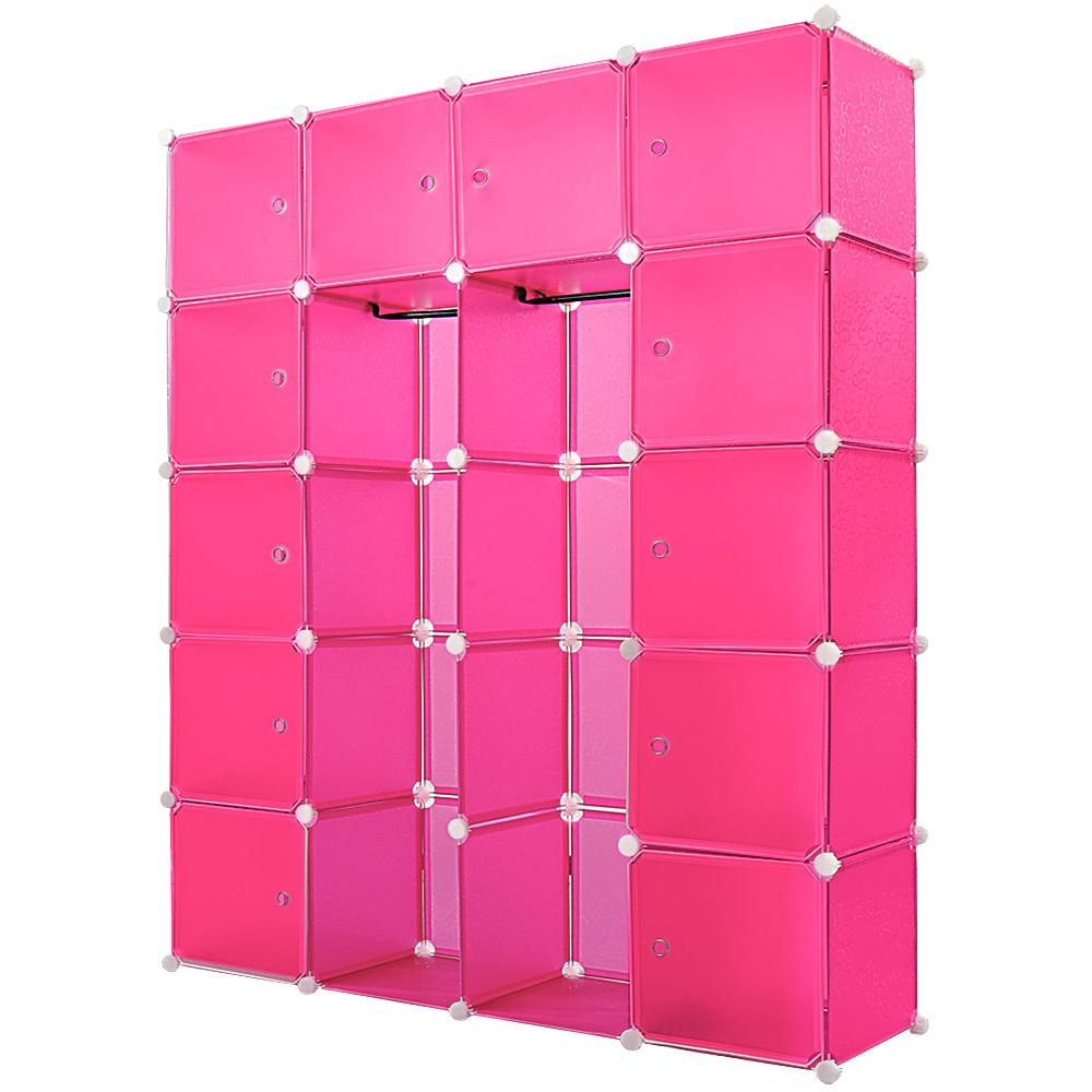 monzana kleiderschrank diy schrank regalsystem steckregal. Black Bedroom Furniture Sets. Home Design Ideas