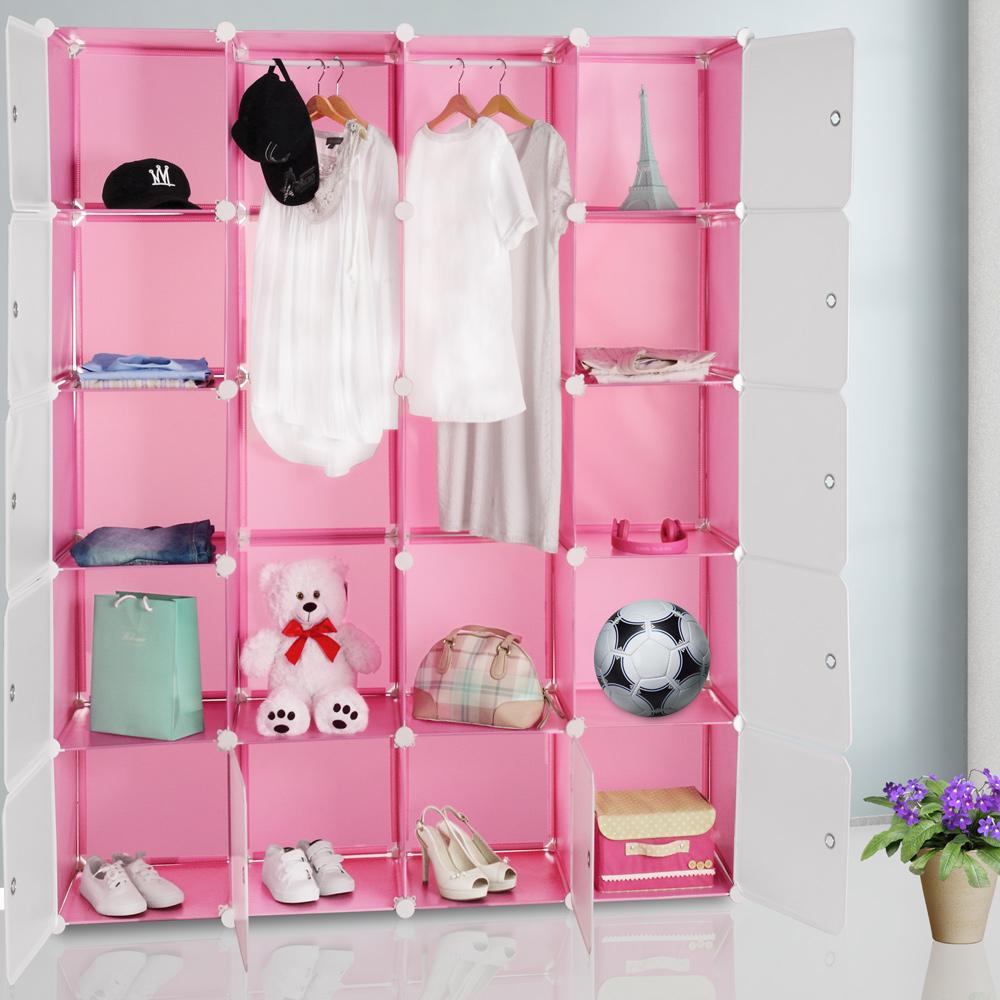 88101230 Regal Kunststoffboxen Big pink