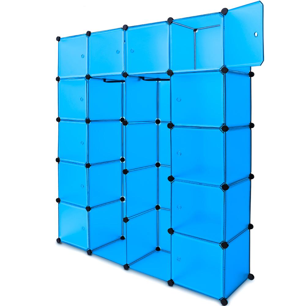 88101232 Regal Kunststoffboxen Big blau