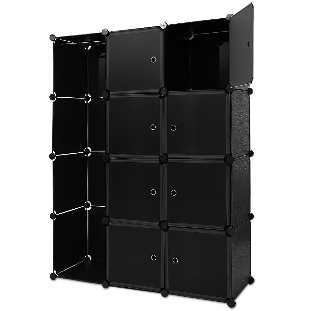 88101235 Regal Kunststoffboxen Medium Schwarz