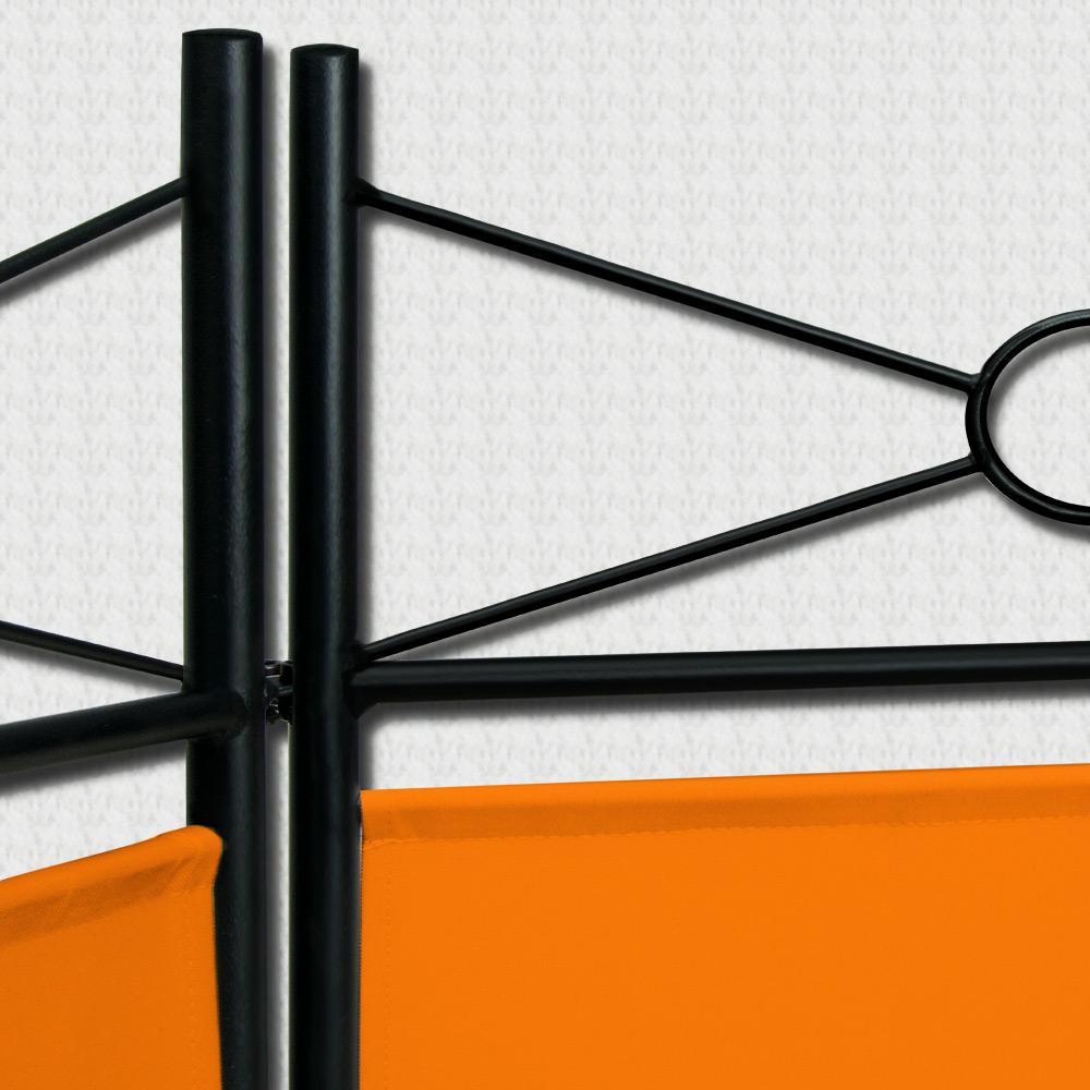 2x 4tlg Raumteiler Trennwand Paravent Umkleide Sichtschutz