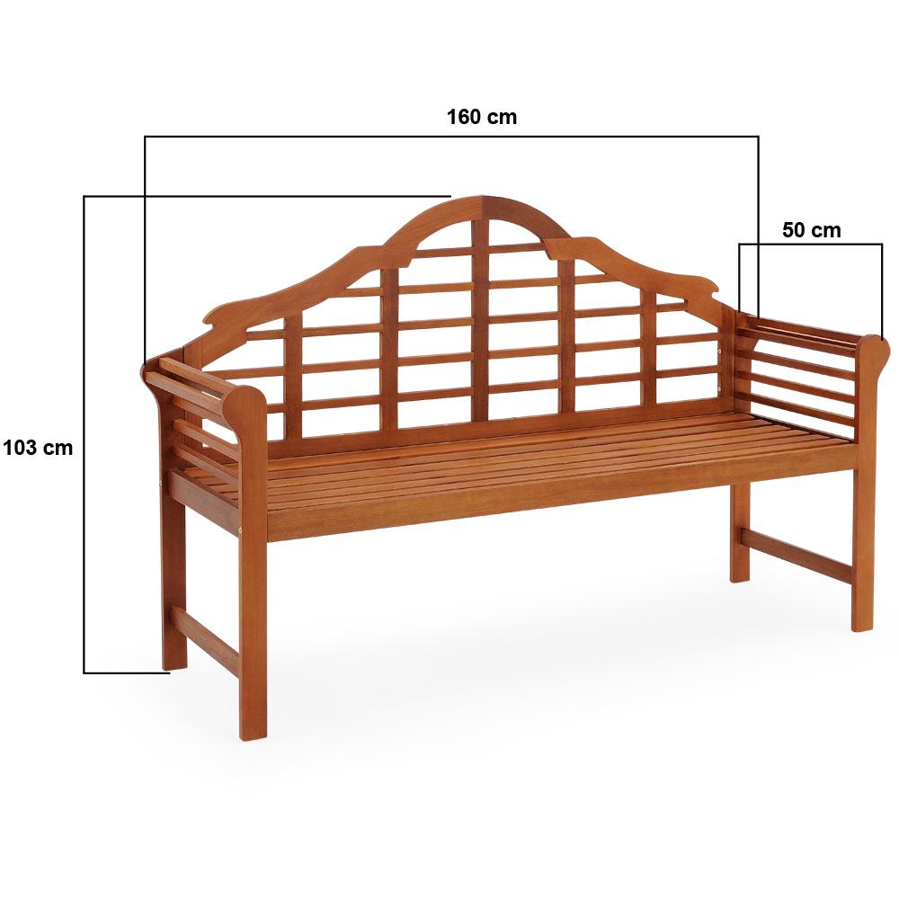 bank sitzbank holzbank bangkirai holz gartenbank garten gartenm bel parkbank neu 4250525309027. Black Bedroom Furniture Sets. Home Design Ideas