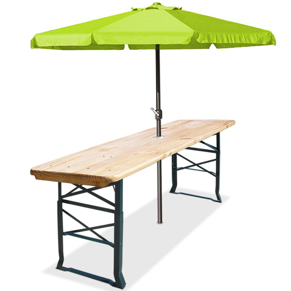 bierstehtisch 170cm stehtisch holz bierzelttisch partytisch tisch biertisch ebay. Black Bedroom Furniture Sets. Home Design Ideas